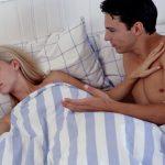 Mujer con apetencia sexual